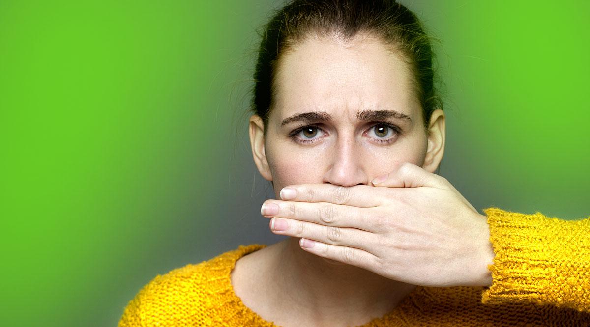 Az ammónia szaga a szájból