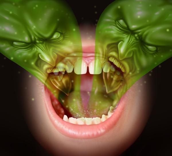 íz a szájban szag a szájból férgek a hasban mi