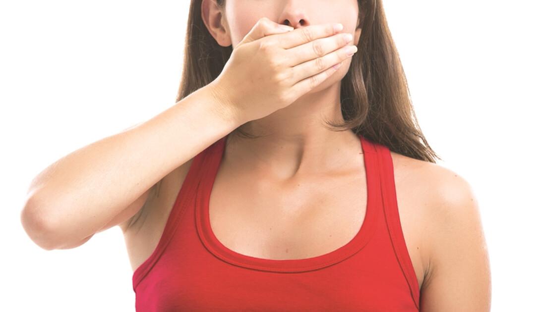 az emésztőrendszer betegsége; rossz lehelet