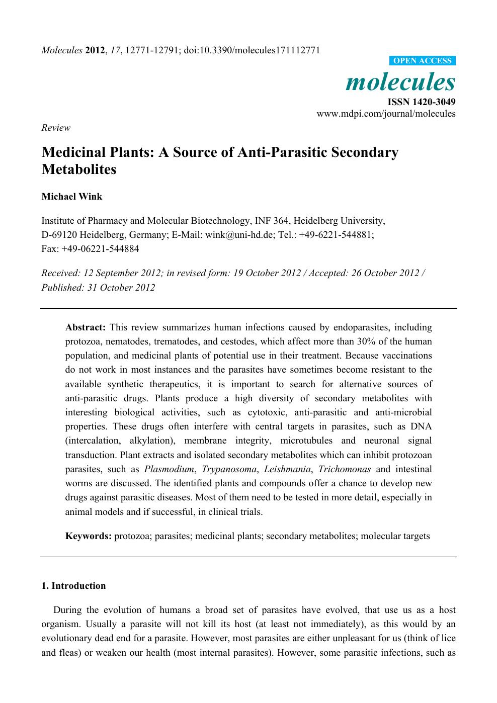 gyógynövények opisthorchiasisból és giardiasisból