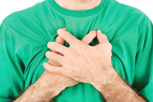 lélegzet a gyomorégéstől